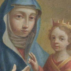 Madonna di San Luca | Olio su Rame