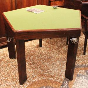 Melchiorre Bega | Set Tavolo da Gioco con poltrone