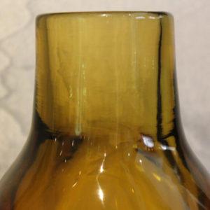 Seguso | Vaso Ambrato in Vetro Sommerso