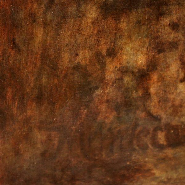 165x53cm Mordecai dipinto olio su tela 165x153cm (11)