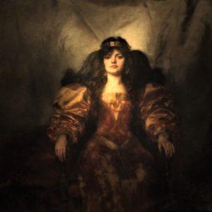 Joseph MORDECAI (1851-1940)| Ritratto femminile (Salomè?)