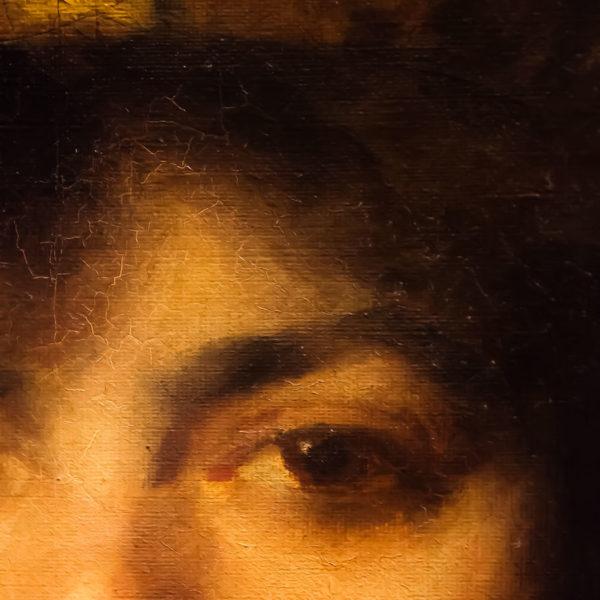 165x53cm Mordecai dipinto olio su tela  (2)