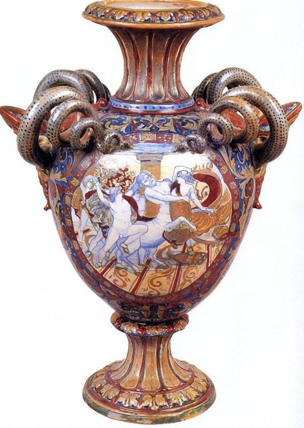 Anfora-Istoriata-Alfredo-Santarelli.museo di gualdo tadino
