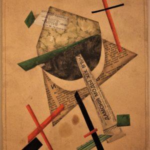 Lazar Chidekel | 'Composizione Futurista e Suprematista'