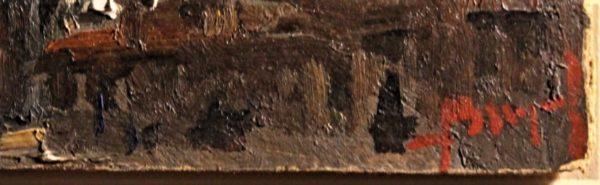 Brugnoli 17x10 olio cartone  Santa  Maria Salute   (6)