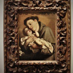 Amb. Marcantonio Franceschini | Sant'Antonio da Padova e Bambino