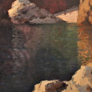 Ivan Aivazovsky Hanzen | Paesaggio marino e un'intera collezione privata di opere