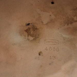 Amphora Austria 1920ca. | Porcellana a patina argentea