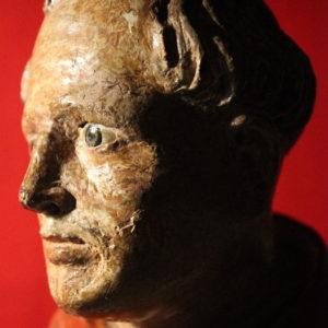 Anonimo XVIsec.| San Vincenzo Ferrer, scultura lignea policroma