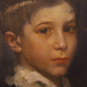 Lino Baccarini | Ritratto di fanciullo, 1928