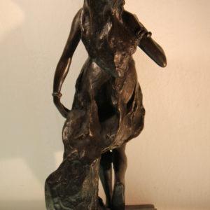 Arturo Caravatti | Salomè fusione bronzea