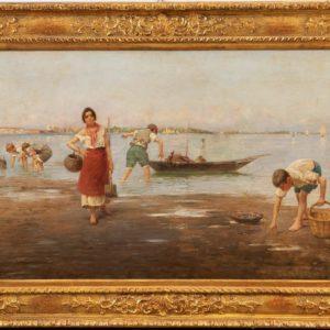 H. P. Smith | Venezia raccolta in laguna