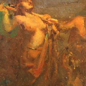 "A. MAJANI | ""Saturnali"", 1893 ca."