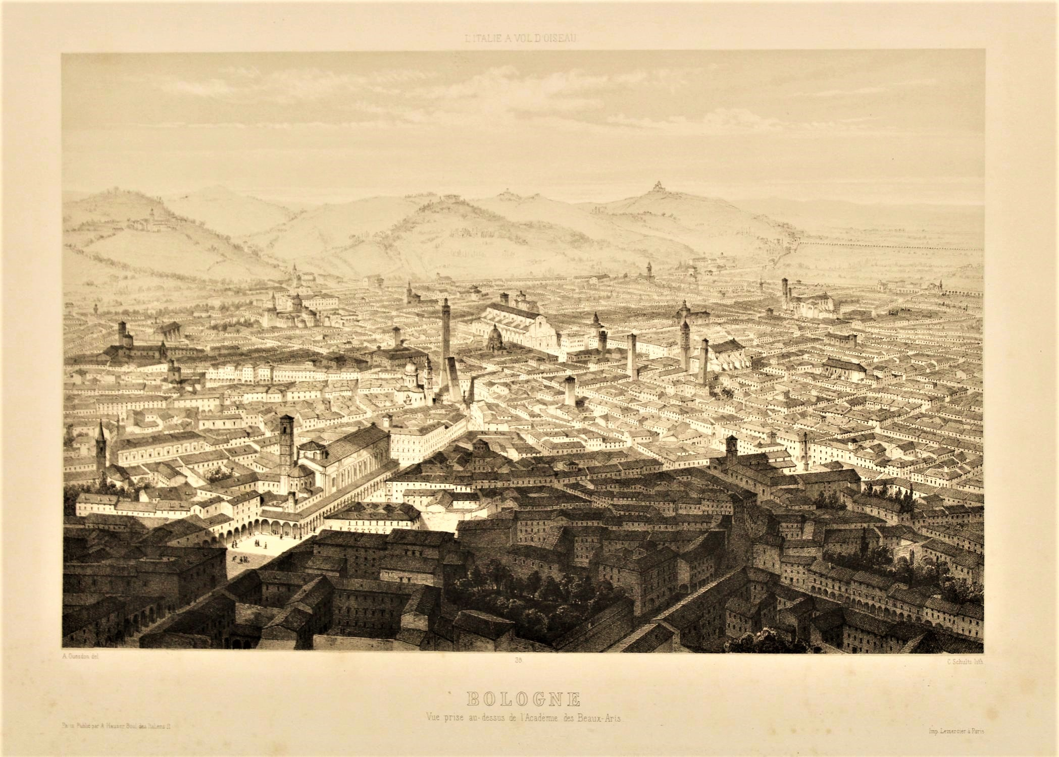 Read more about the article L'Italie à vol d'oiseau | Una panoramica sul tema ….e sulla città